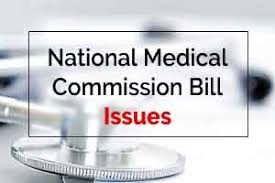 NMC Bill, issues