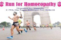 """RUN FOR HOMOEOPATHY"""