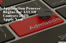 Application Process Begins for AYUSH Courses 2019_ Apply Now